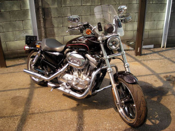 take9さん:「Sportster XL883L SuperLOW」とオーナーレビュー