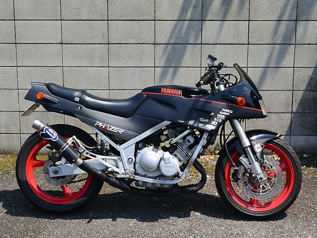 とし さんの愛車yamaha fz250 phazer フェザー 1985年式 myバイク