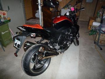 さかなライダー★さん:「Z1000 オレンジ×ブラック」とオーナーレビュー