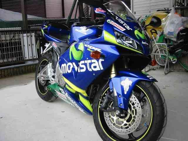 ウォルフさんの愛車honda Cbr600rr 2005年式 Myバイク ウェビック