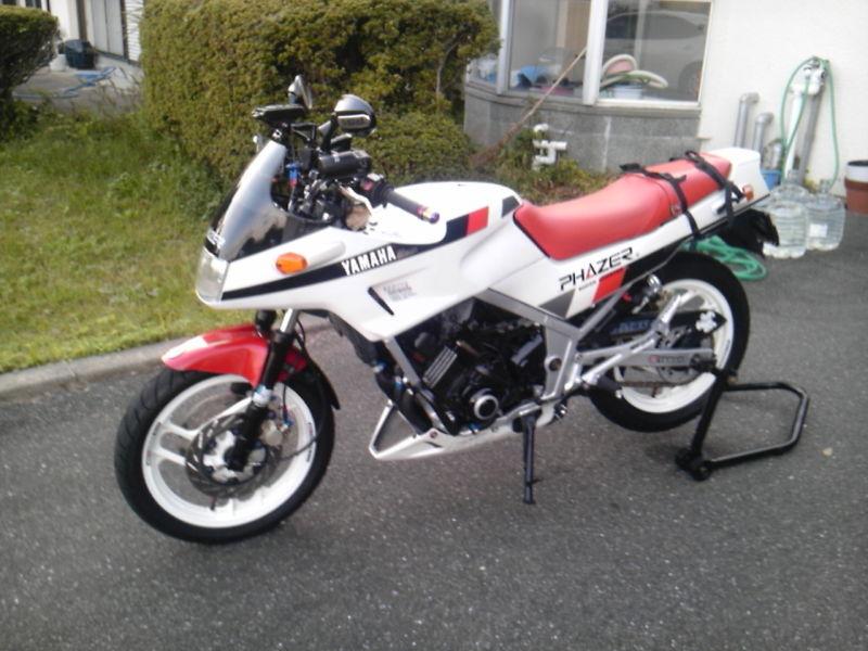 amigo2さんの愛車yamaha fz250 phazer フェザー 1985年式 myバイク