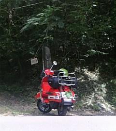 赤のVespa野郎さん:「Vespa PX200 FL2」とオーナーレビュー