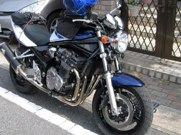 バイクと山好きさん:「油冷1200ブルー」とオーナーレビュー