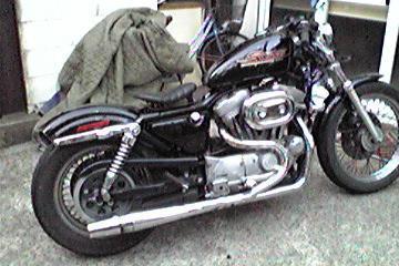 K/Nさん:「俺のバイク883」とオーナーレビュー