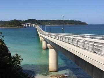 今日の角島大橋   Webikeツーリング
