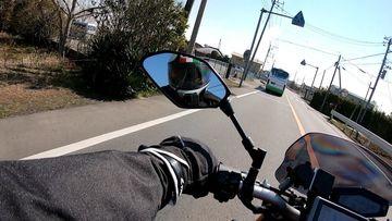 【モトブログ】顎マウントの試し撮りを兼ねてグルメちょい乗り | Webikeツーリング