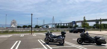 【F6B】新湊大橋マスツー(富山)180617 | Webikeツーリング