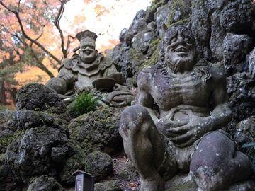 閻魔や鬼も思わず微笑む!?北関東随一の名園 徳明園 | Webikeツーリング