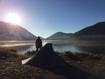 11月5日(日)-7日(火)氷点下の湖畔、二泊三日のタープ泊 | Webikeツーリング