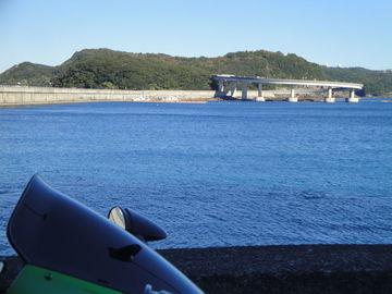 ーR42- ~串本大橋ー   スズキ新型スイフトCM撮影地   Webikeツーリング