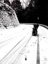 雪道バンバン役立たず | Webikeツーリング