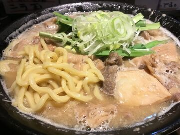 もつ煮込みラーメン、WR250R で、江戸川付近をナイトラン   Webikeツーリング