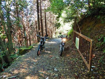 ブログ更新~オートバイの旅~justa2ofus-kzblues.com  「ダート走行63km!!  岐阜県上石津界隈。with M氏 2020.10.11(日)」 | Webikeツーリング