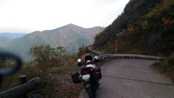 紅葉見物 剣山スーパー林道 | Webikeツーリング