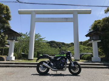 Z900RS 慣らし:800km~1100km 「安房神社」 | Webikeツーリング