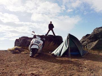 10月8日(日)-10日(火)無料キャンプ場と野営 「毛無峠」 | Webikeツーリング