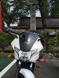 暑かったころのバイク神社(栃木県安住神社)行き | Webikeツーリング