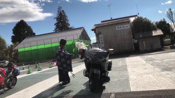 【F6B】バイク神社!お祓いして頂きました!11月10日 1日目(181110) | Webikeツーリング