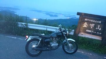 金甲山の夜景 | Webikeツーリング