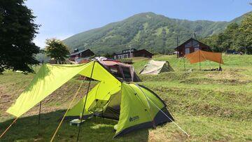 晴天から曇天のキャンプツーリング | Webikeツーリング