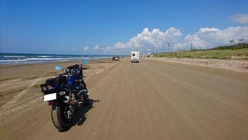 千里浜を走ってみた(^^♪ | Webikeツーリング