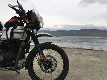 ロイヤルエンフィールド ヒマラヤンで東北周遊4泊5日 本州最北端と本州最東端へ | Webikeツーリング