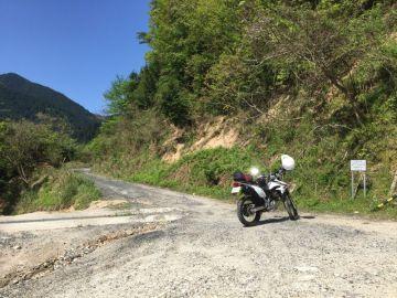 河之内林道→黒谷林道 | Webikeツーリング
