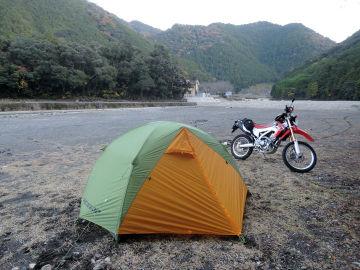 川湯温泉キャンプツーリング   Webikeツーリング