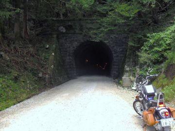 旧天城隧道に怪しい気配はなし   Webikeツーリング