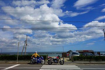 ヨシムラフルエキの唸りが聴きたくてw 東海岸へ in いばらき CB1000SF   Webikeツーリング