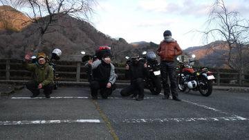 今年最後の仲間とのツー KJC神奈川西の方へ向かうツー   Webikeツーリング
