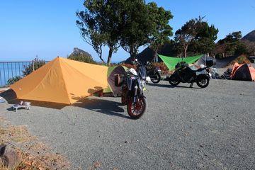 満点の星空が見れる雲見夕陽と潮騒のオートキャンプ場に行ってきたよ 2 | Webikeツーリング