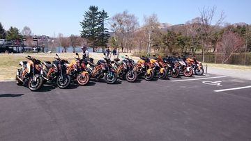 総勢10台^^KTM1290SDR! inビーナスライン | Webikeツーリング