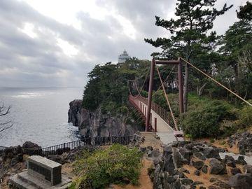 東伊豆ツーリング ・ 城ヶ崎つり橋(門脇灯台)   Webikeツーリング