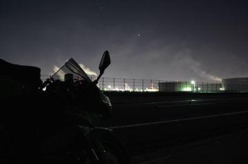 寒すぎ!深夜の撮影ツーリング | Webikeツーリング