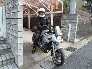 近所のカタナ乗りさんと、初朝駆けに行って来ました。 | Webikeツーリング