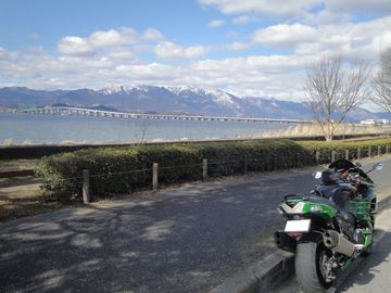 ♪~またまた滋賀琵琶湖 ー琵琶湖大橋ー | Webikeツーリング