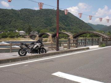 日本の夏 錦帯橋へ行ってきました! | Webikeツーリング