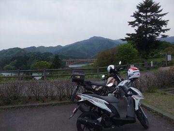 小菅、丹波山へと行くはずだった............   Webikeツーリング
