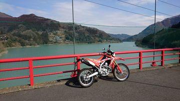 神流湖~上野村~南牧村 さむ… | Webikeツーリング