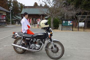 隠れバイク神社? 常陸第三宮 吉田神社を偵察してきました♪ | Webikeツーリング