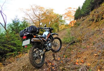 ブログ更新 オートバイの旅 justa2ofus-kzblues.com 「上石津林道 3rd with M氏。『ブログの方ですよね?』2020.11.8(日)」 | Webikeツーリング