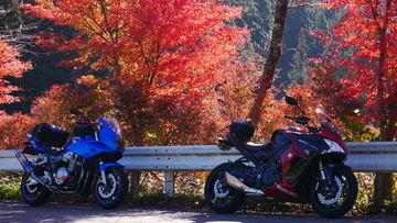 秋の紅葉ツーリング 一日目はウェビ友さんと徳島ツーリング♪ | Webikeツーリング