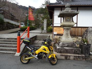 長谷寺からワインディングで針まで、で、同じルートで帰りでした。   Webikeツーリング