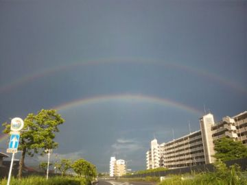 こんな虹見るの生まれて初めて♪(驚) | Webikeツーリング