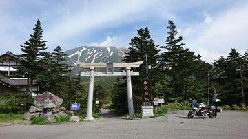 岐阜のmotovloggerさんにならって御岳山を間近に見に行く | Webikeツーリング