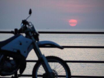 四万十川キャンプ場の夜と足摺岬日の出弾丸ツーリング | Webikeツーリング