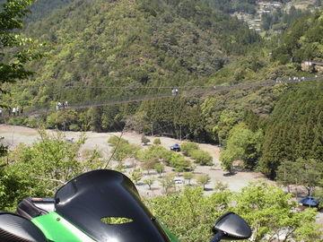 谷瀬の吊り橋~天川村~黒滝(奈良県) | Webikeツーリング