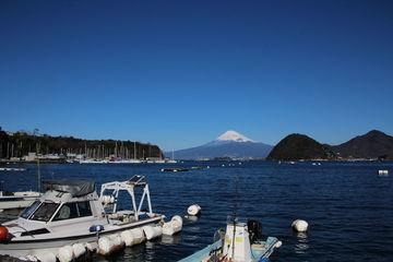伊豆長岡温泉ゆったり湯治旅行、駿河湾と富士山   Webikeツーリング