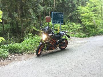 DUKE390で林道をアタックして滝を見たよ | Webikeツーリング
